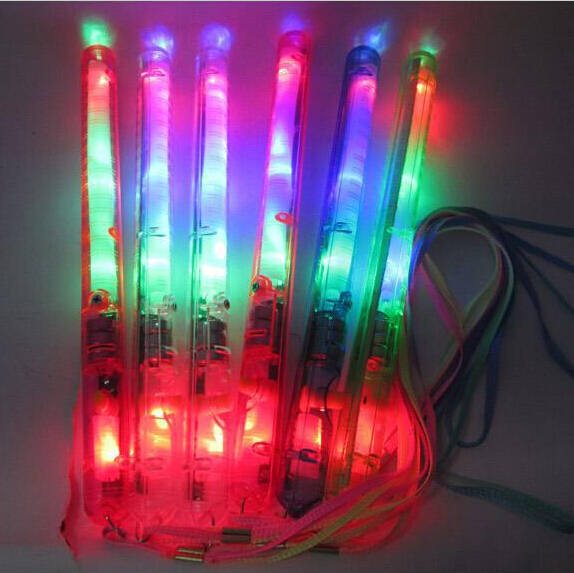 Best Birthday Gift 1000PCS 21CM Colorful LED Flashing Glow Light Stick Blink Lively Atmosphere Maker For Party Bar Deco Concert