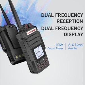 Image 3 - 2 pièces Professionnel Two Way Radio Talkie Walkie UHF VHF 10 W Jambon CB Radio Communicateur HF Émetteur Récepteur