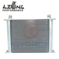 LZONE RACING - 30 ROW AN-10AN UNIVERSAL ENGINE TRANSMISSION OIL COOLER JR7030S