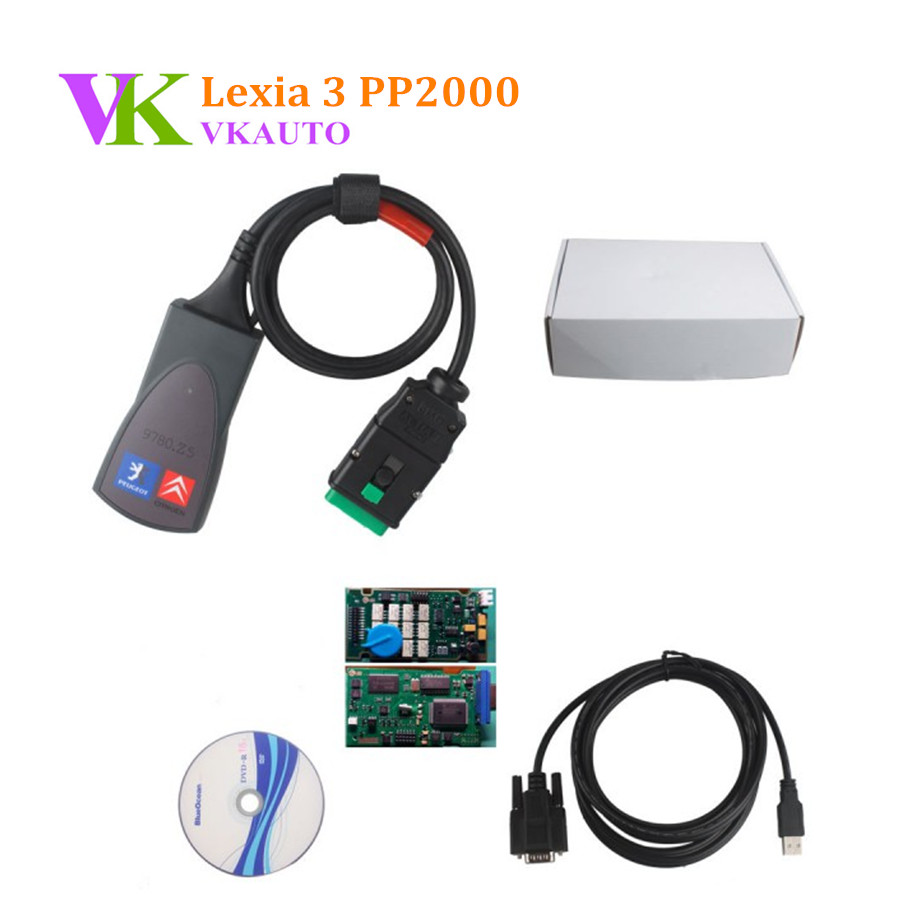 Lexia-3 V48 For Citroen//Peugeot Diagnostic Scanner PP2000 V25 Diagbox V7.76 Tool