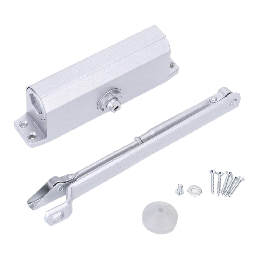 aluminum alloy 35kg automatic hydraulic door closer with parallel bracket e4i2china mainland