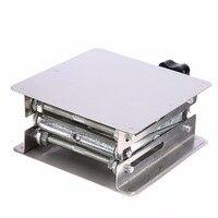 1pc Laboratory Lifting Platform High Quality Stainless Steel Lab Scissor Stand Rack 100 100mm