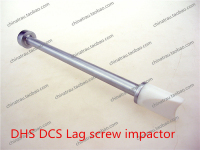 Medical Orthopedic Instrument Femur DHS DCS Lag Screw Impactor Lag Screwdriver Advance Promote Pressure Divece Hammer