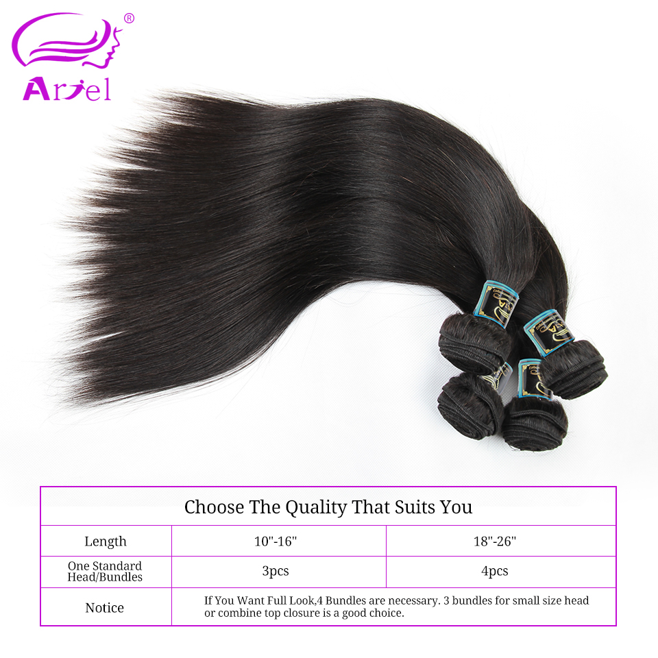 Hair straight picture more detailed picture about ariel hair ariel hair peruvian virgin hair straight bundles unprocessed human hair weave natural color can be dyed pmusecretfo Choice Image