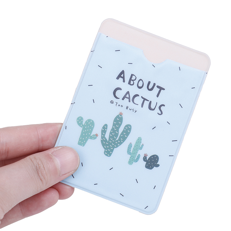 Fresh Fruit  Double-layer Card Note Holder Bus Business Credit Cover Case Wallet 9.6*6.6cm