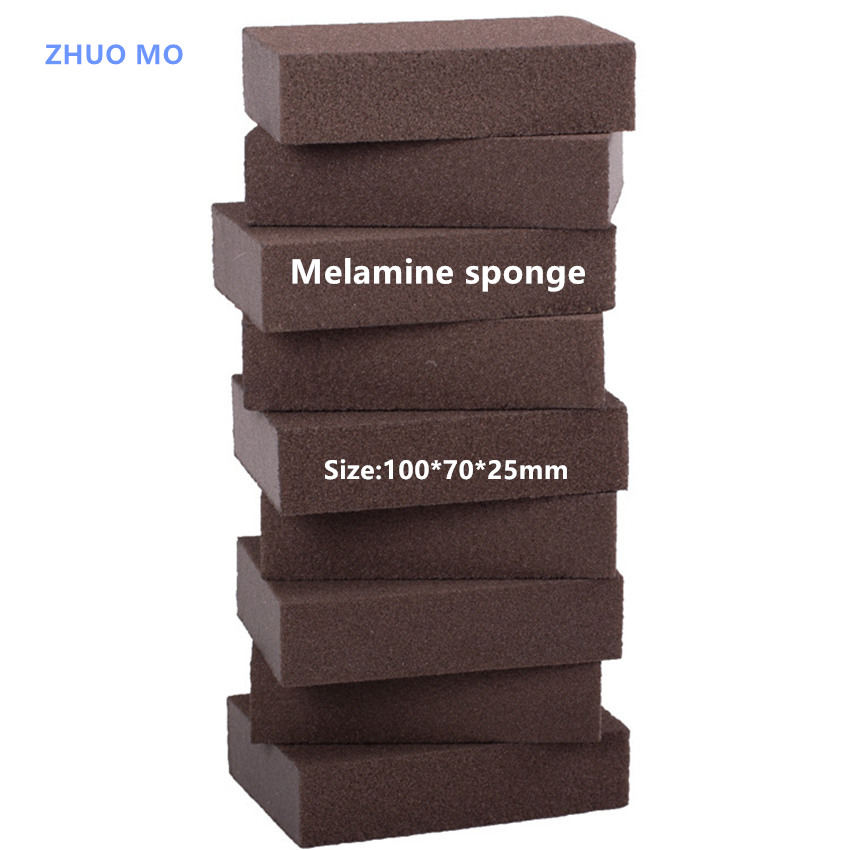 Melamine Sponge 10pcs 100*70*25mm Magic sponge High Density Nano Emery Antibacterial sponge dish brush Kitchen Wash ...