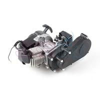 For Mini Moto 2 stroke Plastic 49CC Engine Pull E Start 13MM Carburetor Plastic Pocket ATV Quad Buggy Dirt Pit Bike