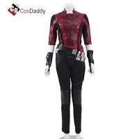 Gamora cosplay costume jacket pants leather CosDaddy