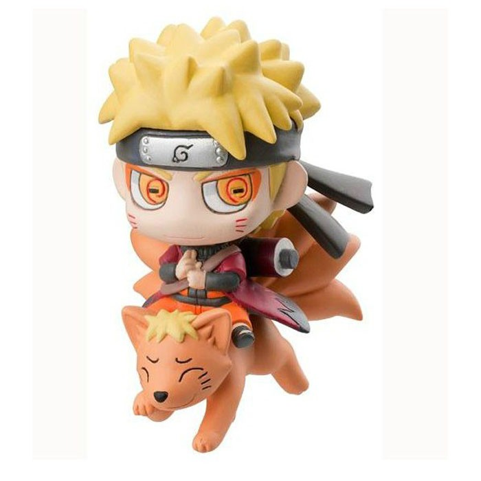 2017 Naruto With Nine Fox Mount Kyuubi Action Figures Model Collection Mini Model Doll Toy Mini Kids Japan Anime Gifts #EA 6pcs lot 7cm naruto action figure set q edition toy naruto japan anime figures model toy set action toys