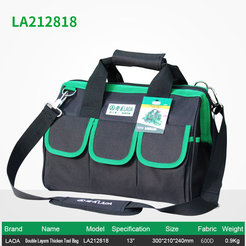 Dropwow 1pcs LAOA 600D Tool bag Electrician Large capacity Repair ... bdf7ecf46274e