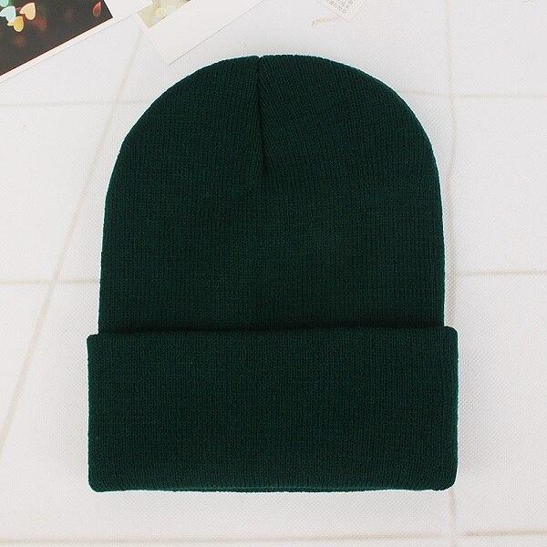 Blackish green Cap