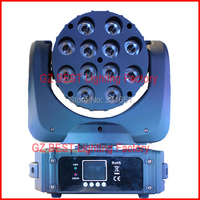 8Pcs Carton Stage Lights CREE Beam Moving LED 12x 12 Watts RGBW MCE QUAD Light