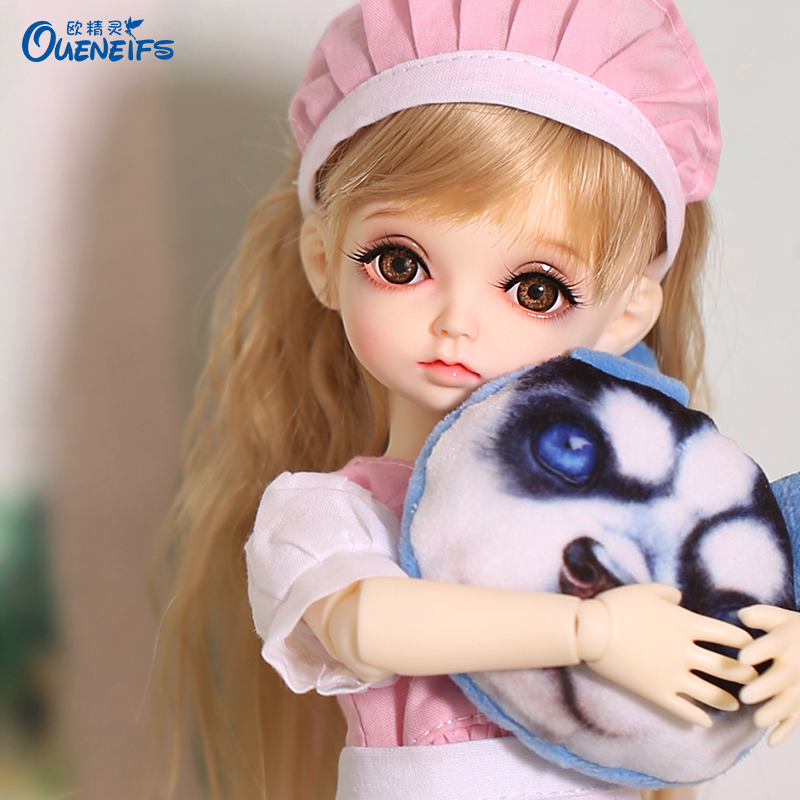 OUENEIFS Free Shipping Hebbe 1/6 BJD SD Doll Model Baby Girls Boys Eyes High Quality Toys Shop Resin Figures