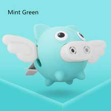 Car Freshener Cute Shaking Wings Pig Doll Perfume Clip Aroma Diffuser Auto Air Vent Solid Balm Fragrance Smell Air Purifier Gift