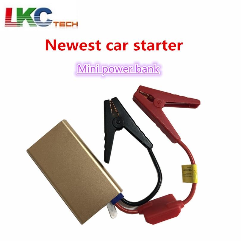 Nouveau Mini Portable 12 V voiture batterie saut démarreur TM23 Auto Jumper moteur batterie externe démarrage jusqu'à 2.0L voiture démarreur