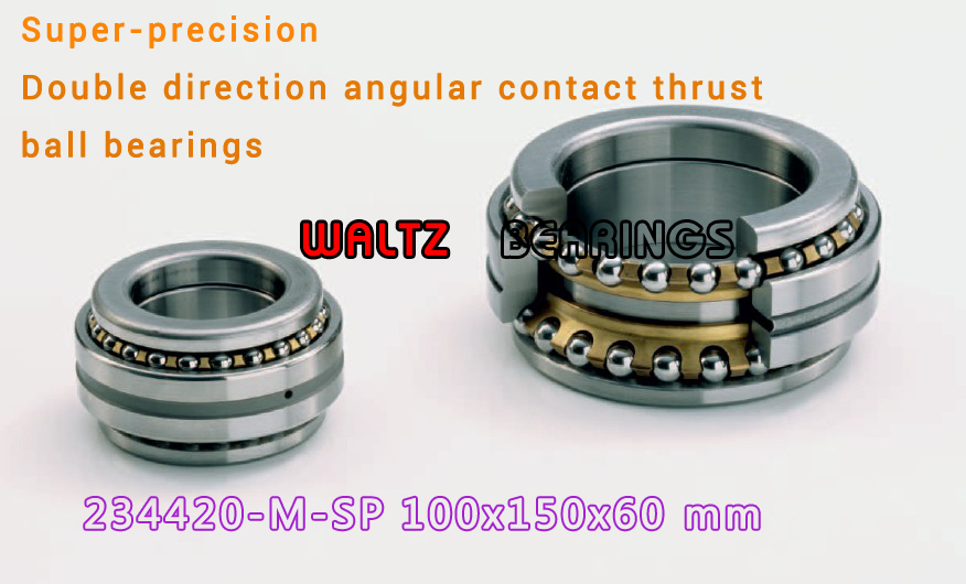 234420 M-SP BTW 100 CM/SP 562020 2268120 Double Direction Angular Contact Thrust Ball Bearings Super-precision ABEC 7 ABEC 9 1pcs 71901 71901cd p4 7901 12x24x6 mochu thin walled miniature angular contact bearings speed spindle bearings cnc abec 7
