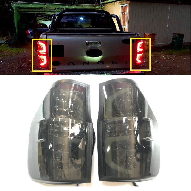 Светодио дный задние фонари светодио дный задние лампы подходят для ranger 2012 2017 t6 t7 xlt RANGER сигналы стояночного тормоза освещение автомобильны