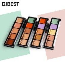 QIBEST Merek Makeup set Concealer Palette Pemangkasan Yayasan Kecantikan halus Mencerahkan memakai Panjang Perbaiki Make up Kosmetik kit F18016