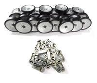 henglong 3818 3818 1 German Tiger 3819 3819 1 German leopard 1/16 RC tank upgrade parts metal wheels hub set
