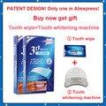 Nova marca de 28 Tiras 14 Bolsa 3D Crest Whitestrips LUXE Efeitos Profissionais Dentes Branqueamento Tiras Frete Grátis