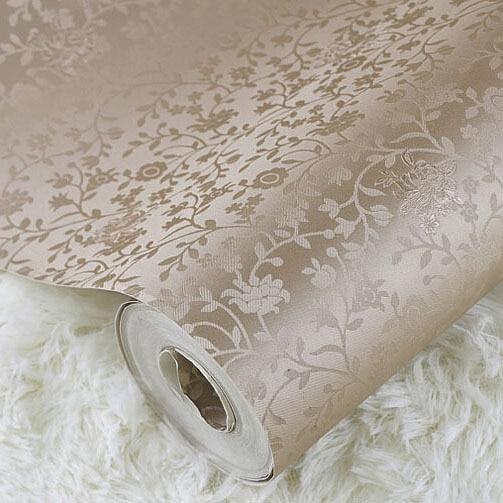 Compra peque as flores de papel tapiz online al por mayor for Papel vinilo blanco