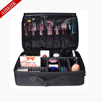 2017 Professional Makeup Bag Women Cosmetic Bags Case High Quality Oxford Female Korean Makeup Box Large