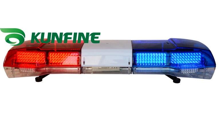 Barre lumineuse d'avertissement de haute qualité LED barre lumineuse de police et haut-parleur (en option) DC 12 V voyant stroboscopique d'urgence KF1800