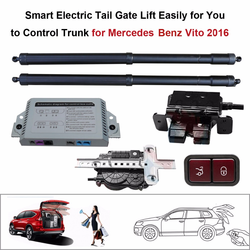 Auto  Electric Tail Gate Lift For Mercedes Benz Vito 2016 Control By Remote