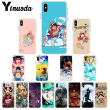 Yinuoda One Piece Luffy Monkey DIY Luxury High-end Protector Case for iPhone X XS MAX 6 6s 7 7plus 8 8Plus 5 5S SE XR(China)