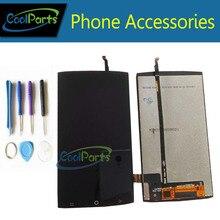 Получить скидку 1 шт./лот Высокое качество для dexp ixion MS450 ЖК-дисплей Экран дисплея + Сенсорный экран планшета Ассамблеи с Инструменты черный Цвет