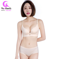 2017 New Underwear Seamless Bra Steel Ring Without A Chip Smooth Adjustment To Gather Quality Suit