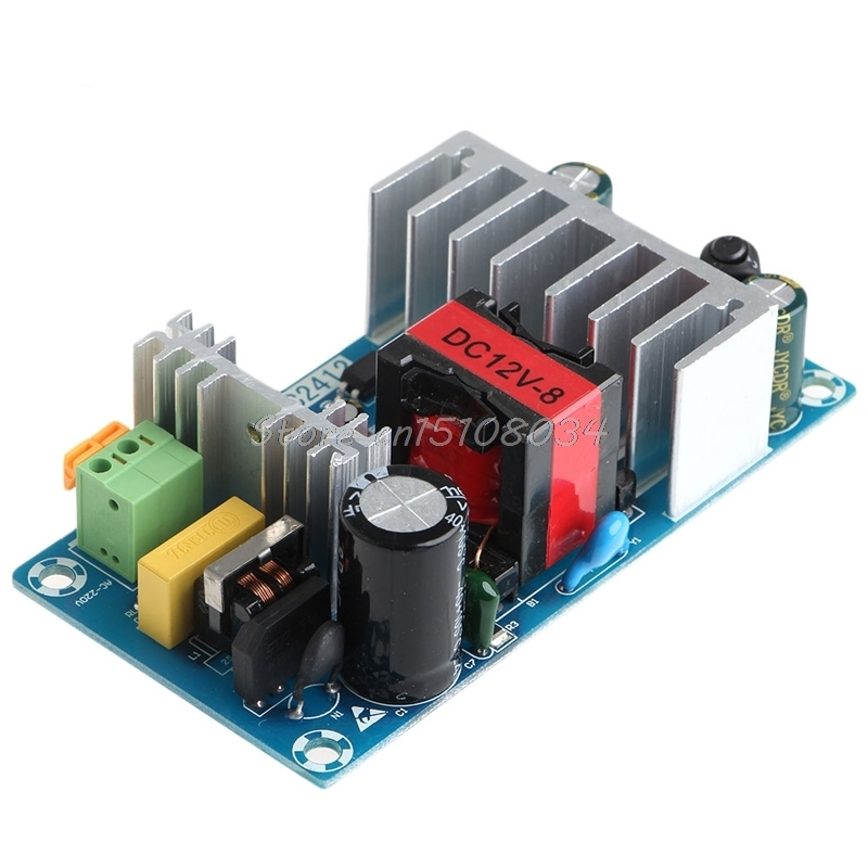 New 6A-8A Unit For 12V 100W Switching Power Supply Board AC-DC Circuit Module S08 Drop ship new 6a 8a unit for 12v 100w switching power supply board ac dc circuit module