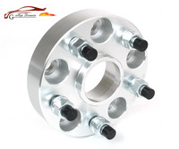 2PCS 5x108 25 30mm 65 1mm Aluminum Wheel Spacer Adapter Suitable For Volvo Series 240 700