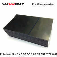 Livraison Gratuite 10 pièces Polariseur Film 4 pouces 4.7 pouces 5.5 pouces pour Iphone 5G 5s 5C SE 6G 6 P 6 S 6SP 7G 7 P 8 8 P