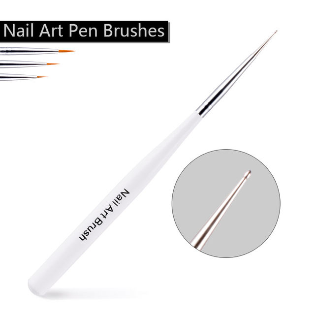 Online Shop Sexy Mix 7pcs Nail Art Pen Brushes Set Dotting Painting