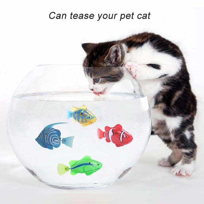 Flash swim ming электронные игрушки для купания для домашних животных, для детей, для ванной, с питанием от аккумулятора, для плавания, роботизированные для украшения аквариума