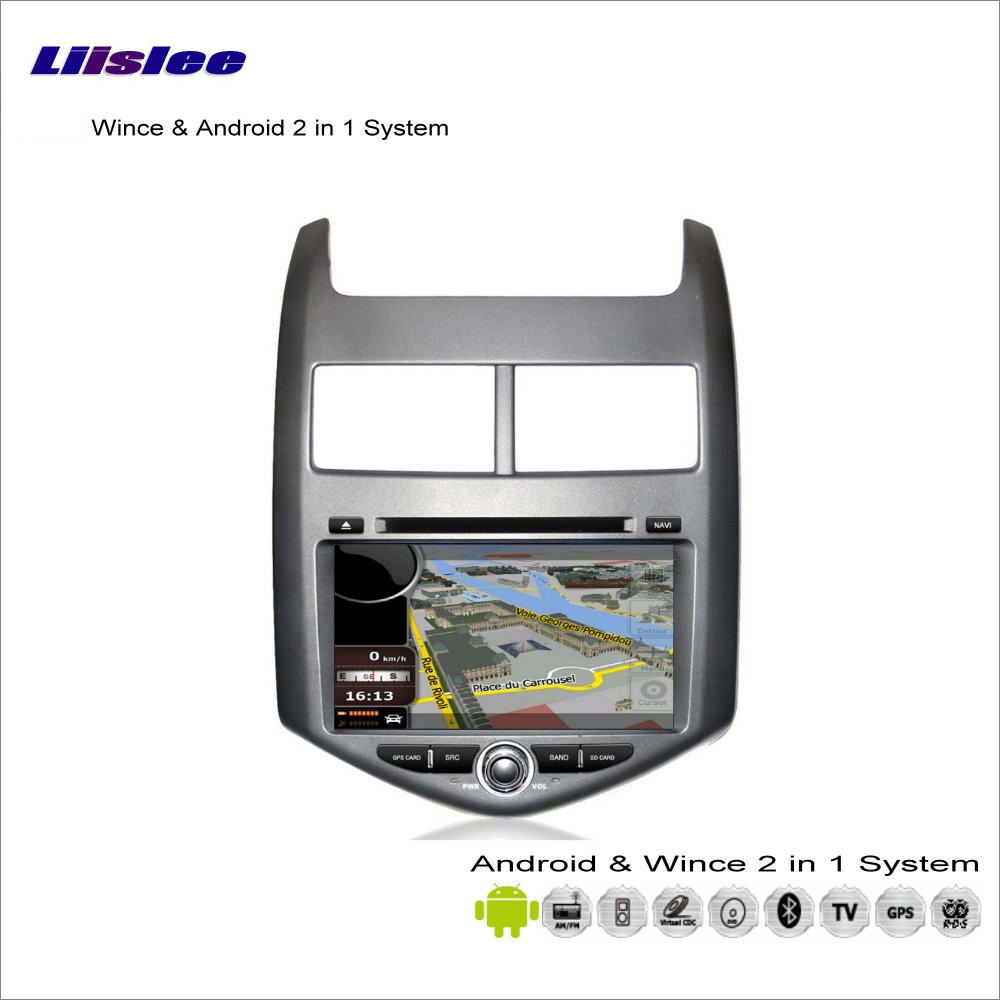 Liislee Android Multimedia For Chevrolet Aveo / Sonic 2011~2013 Radio CD DVD Player GPS Nav Navigation Audio Video Stereo System