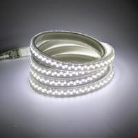 AC 220 V LED Lights Strip Waterproof IP67 Tube Lampara SMD 5730 180led/m 5m 10m 30m 50m 100m Bright tiras led 220V for Kitchen