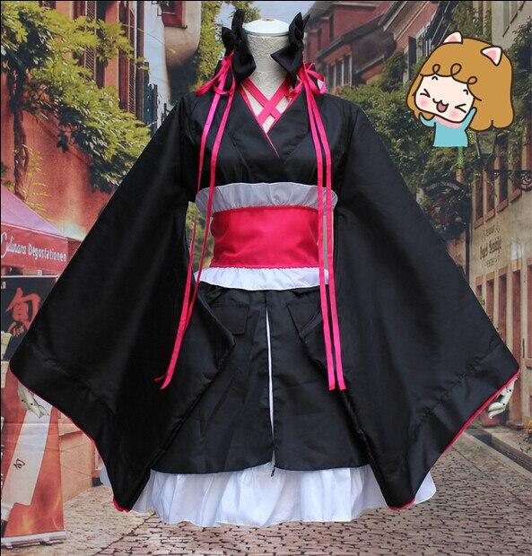 New Arrivals Hot Anime Unbreakable Machine Doll Kimono Hot Sale Girls Sexy Kimono Ladies Hottest font