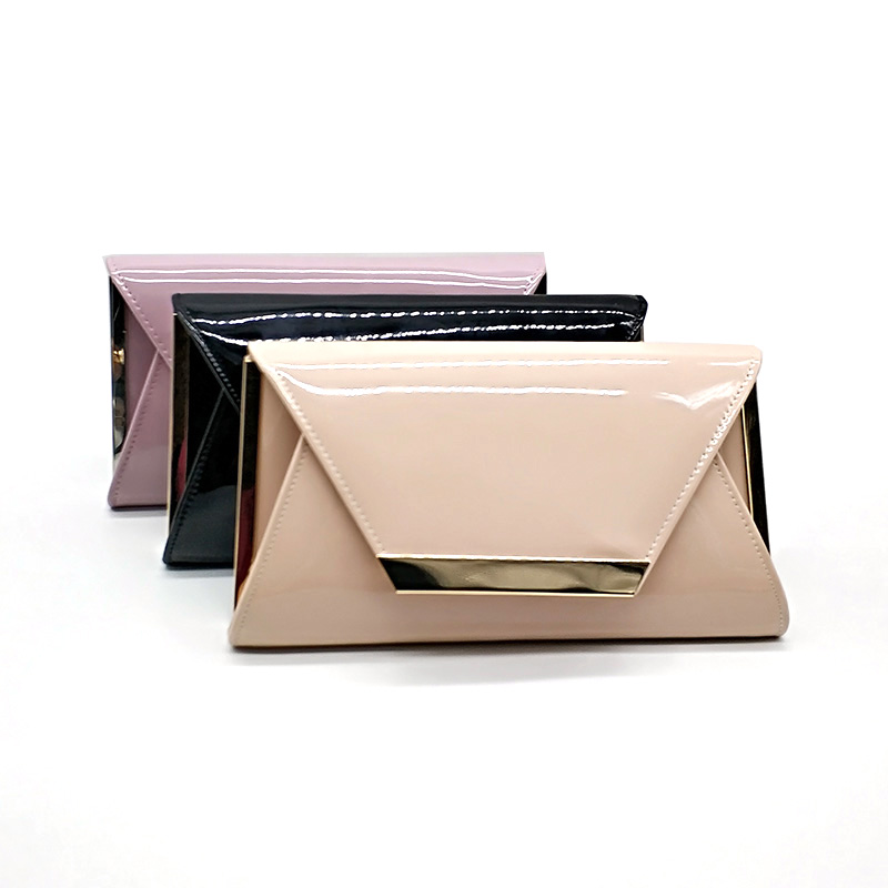 Envelope-Bag Clutches Party-Bag Bridal Wedding Fashion Women Solid