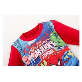 2T-8T Kids Spiderman Pajamas Sets Boys Superman Spiderman Sleepwear Children Little Pony Nightwear Baby Girls Princess Pyjamas