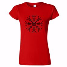HELM OF AWE 2 WOMENS T SHIRT NORSE NORDIC Aegishjalmur NORWAY SYMBOL NORSE New T Shirts Funny Tops Tee New Unisex Funny Tops d aulaires book of norse myths