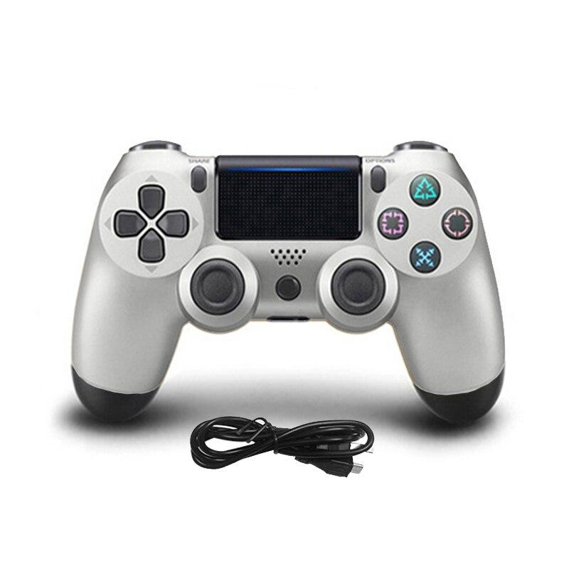 Pour Sony Playstation 4 USB Filaire Gamepad Contrôleur de Jeu Pour PS4 DualShock Vibration Joystick Gamepads Jeu Jouer Contrôleur