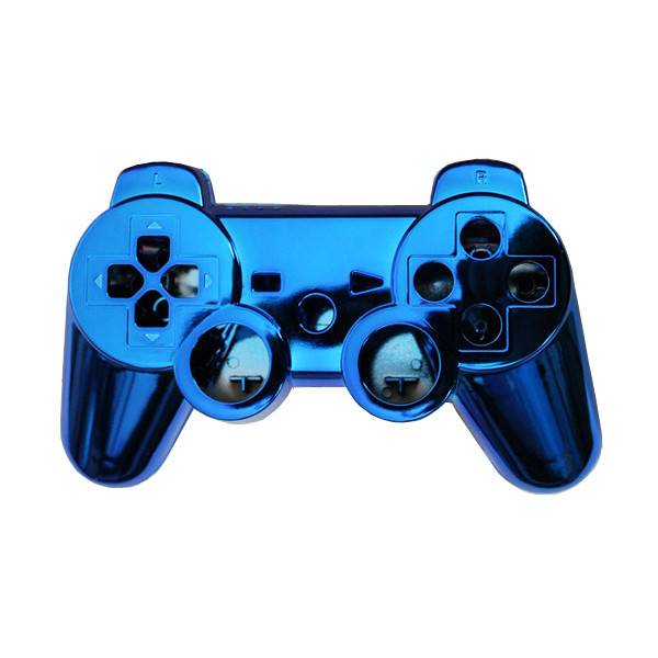 Blue Full Controller Shell Case Housing Button Kit for Sony PS3 Bluetooth Controller