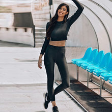 48c6dae28a GXQIL Outono Mulher Esporte Terno Sportswear Ginásio Fitness Dry Fit Yoga  Define As Mulheres 2018 Fatos de Treino Roupas Esporti.