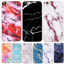 For iPhone 5S SE 5 6S 6 7 8 X Plus XS Case Glossy Marble Stone For Apple iPhone 7 Case Phone Cover Soft Silicon TPU Coque цена и фото