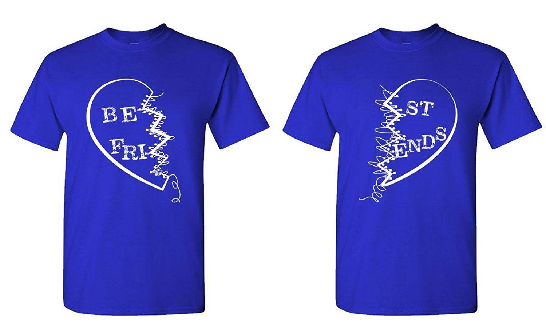 Design t shirt gildan - Gildan Custom Tee Shirt Designer Best Friends Buddies Couples Two T Shirt Combo Apparel