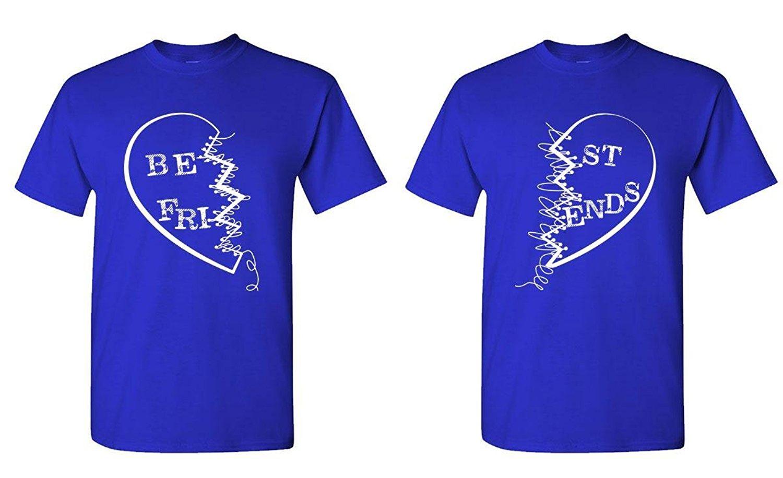Shirt design for couples - Gildan Custom Tee Shirt Designer Best Friends Buddies Couples Two T Shirt Combo Apparel