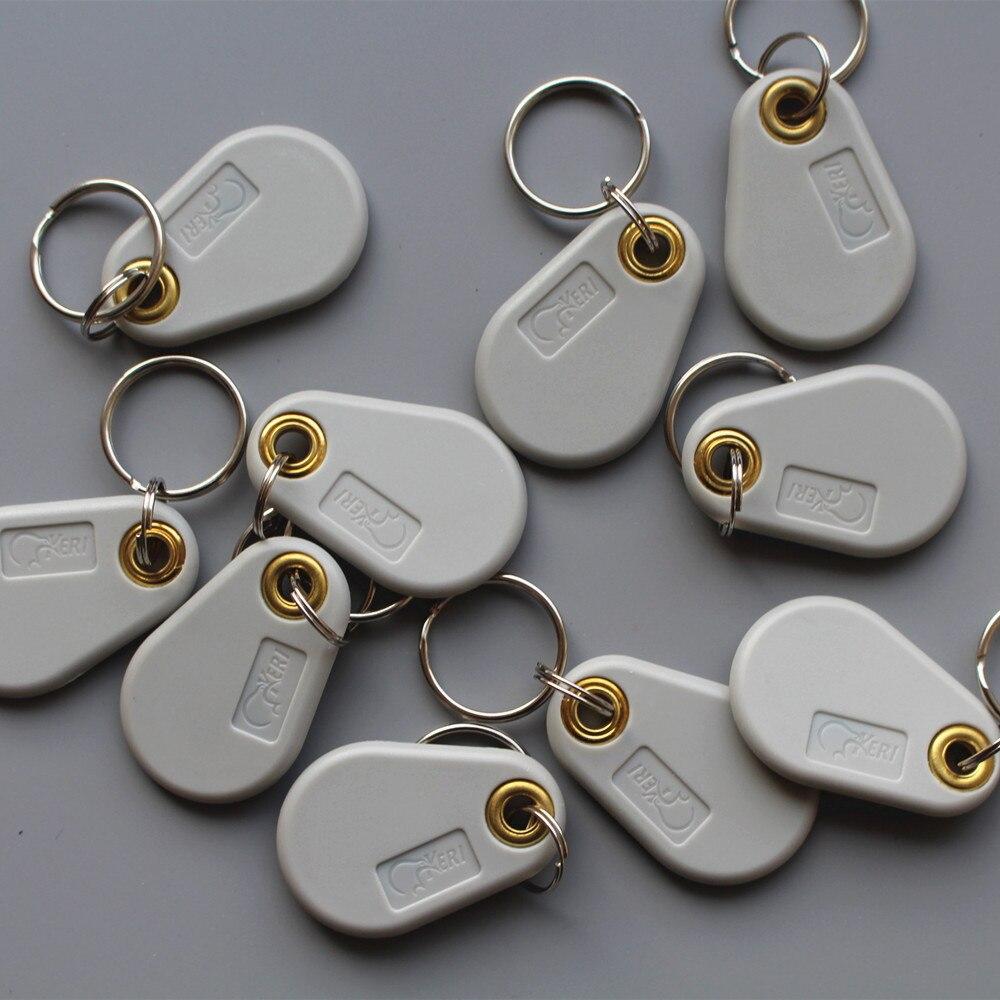 125 Khz T5577 RFID EM Lisible et Inscriptible Carte de Contrôle D'accès Tags Porte-clés Porte-clés 10 pcs/lot