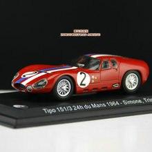 Leo 1:43 Tipp 151/3 24 h du Mans 1964 сплав модель автомобиля литая под давлением металлические игрушки подарок на день рождения для детей мальчиков